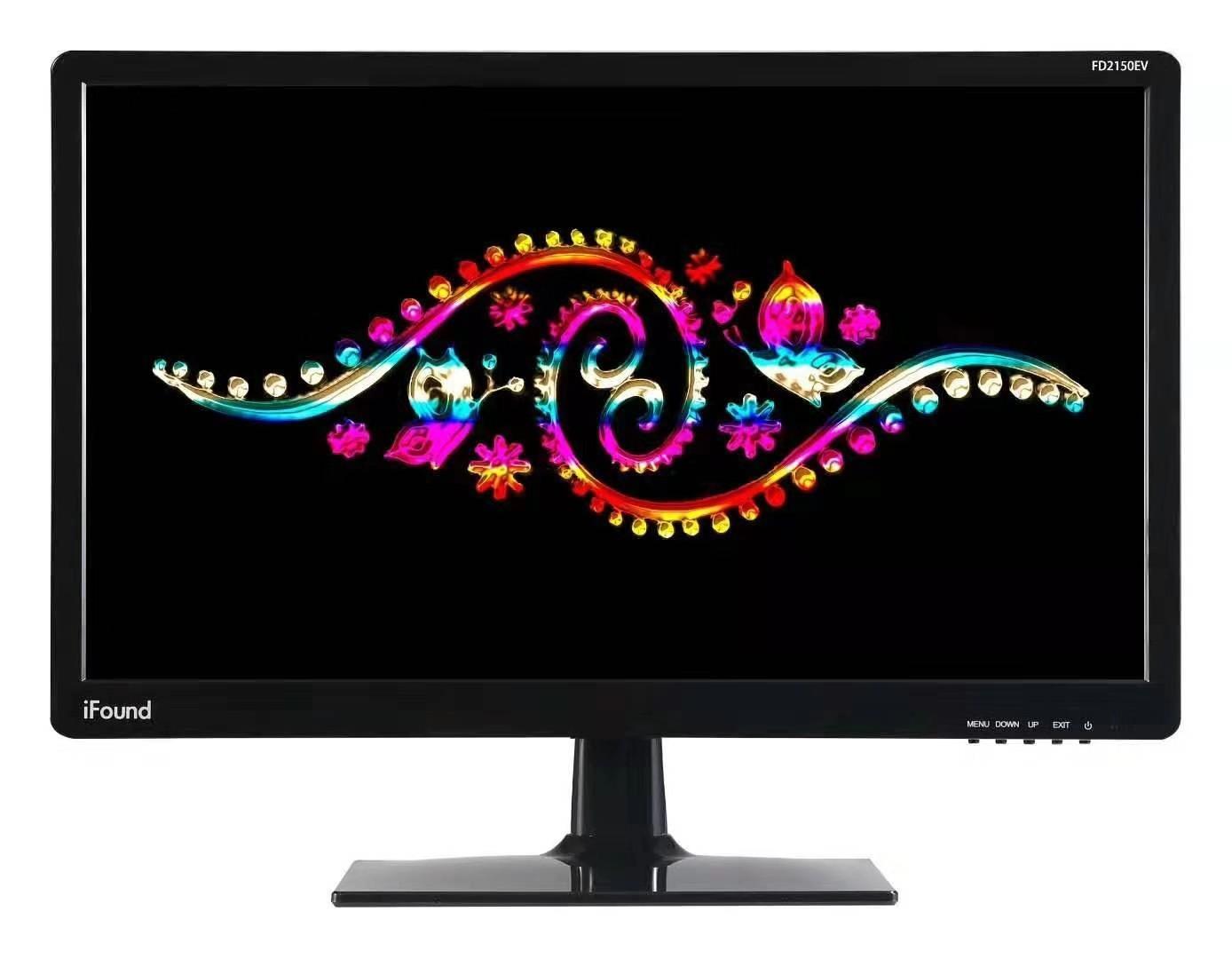方正FD2150 20.7英寸高清液晶显示器办公监控台式电脑屏幕 可壁挂