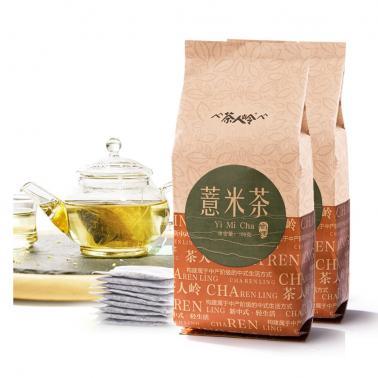 茶人岭 薏米茶 180克×2袋 袋泡简装