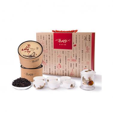 茶人岭 正山小种 武夷红茶茶具礼盒