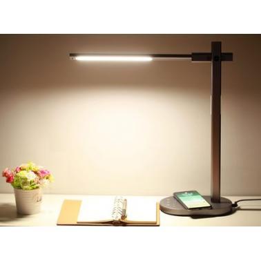 摩米士QL1CND无线充电器书桌床头LED护眼台灯(无线充电器+LED护眼台灯 二合一)