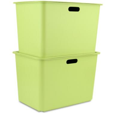 茶花方形储物盒-L 2887 20L颜色随机