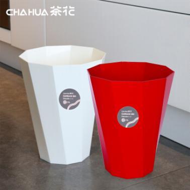 茶花玫瑰垃圾桶 1524颜色随机