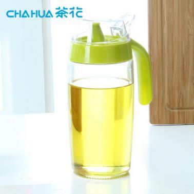茶花厨易玻璃油壶-S A60002颜色随机