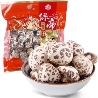 绿帝 福建古田香菇 土特产 干货菇类 食用菌类 新货 蘑菇 花菇250g