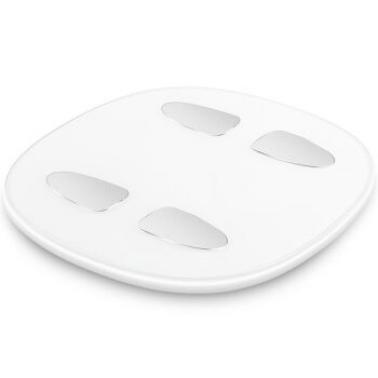 乐心S5智能体脂秤 家用人体健康称脂肪称重 WiFi链接 微信互联 乐心S5-白色