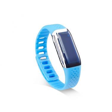 乐心mambo智能手环蓝牙计步器震动提醒苹果安卓男女防水运动手表带点腕带蓝色