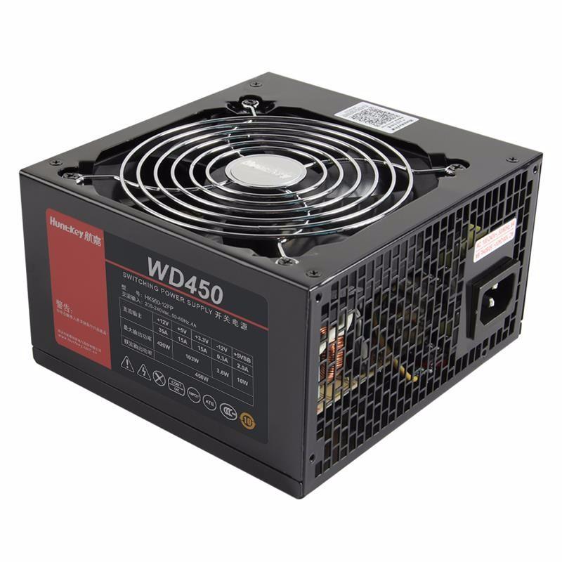 航嘉(Huntkey)多核WD450 额定450W电脑电源台式机